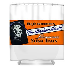 The Abraham Lincoln Shower Curtain
