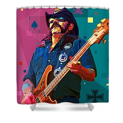 The Ace Of Spades Shower Curtain