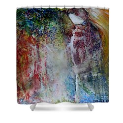 The Adventure Begins Shower Curtain