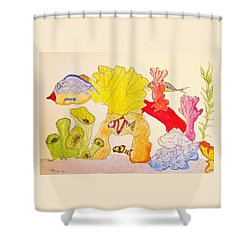 The Age Of Aquarium Shower Curtain
