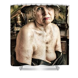 The Age Of Roses  Shower Curtain