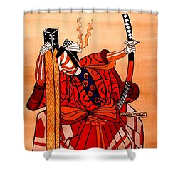 The Age Of The Samurai 04 Shower Curtain