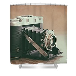 Shower Curtain featuring the photograph The Agfa by Ana V Ramirez