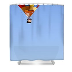 The Air Up There... Shower Curtain