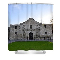The Alamo Shower Curtain