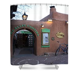 The Alley Cantina Shower Curtain