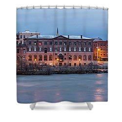 Shower Curtain featuring the photograph The Allure Of Old by Everet Regal