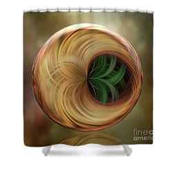 The Altar Orb Shower Curtain