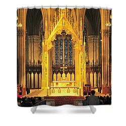 Shower Curtain featuring the photograph The Alter by Diana Angstadt