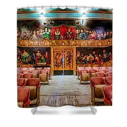 The Amargosa Opera House Shower Curtain