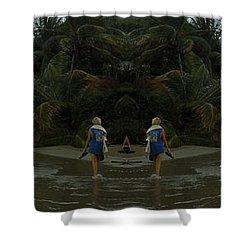 The Amazing Beach Shower Curtain