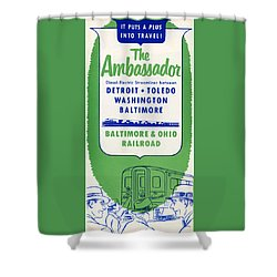 The Ambassador Shower Curtain