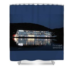 The American Duchess At Night Shower Curtain