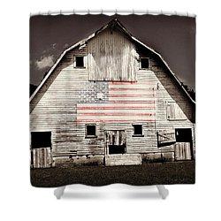 The American Farm Shower Curtain