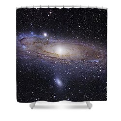 Shower Curtain featuring the photograph The Andromeda Galaxy by Robert Gendler