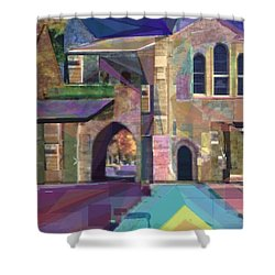 The Annex Shower Curtain by Vickie G Buccini
