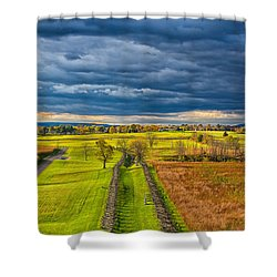 The Antietam Battlefield Shower Curtain