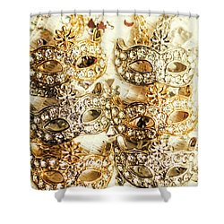 The Antique Jewellery Store Shower Curtain by Jorgo Photography - Wall Art Gallery