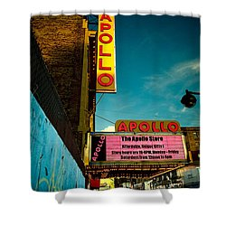The Apollo Theater Shower Curtain