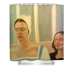 The Apprehension Of Impending Death For Katherine Howard Shower Curtain
