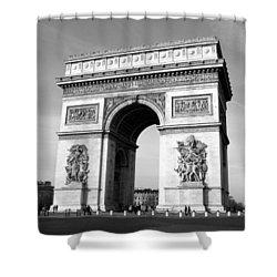 The Arc Di Triomph Shower Curtain