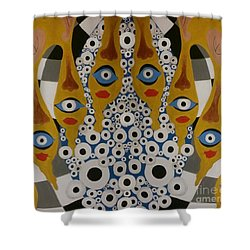The Arch Of The Eye Shower Curtain