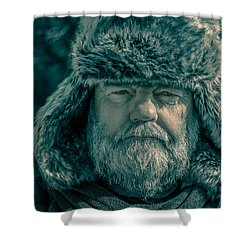 The Archer Shower Curtain by Racheal  Christian