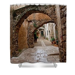 The Archways Of Villecroz Shower Curtain