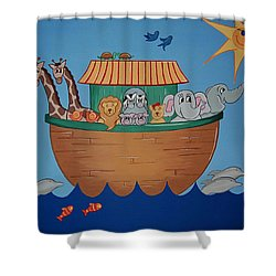 The Ark Shower Curtain