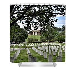 The Arlington National Cemetery Shower Curtain