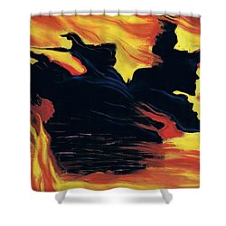 The Arrival Of The Wicked Shower Curtain