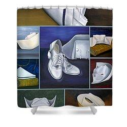 The Art Of Nursing Shower Curtain