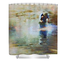 The Artist As A Boy Shower Curtain
