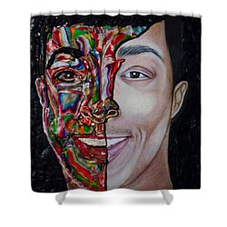 The Artist Within Shower Curtain