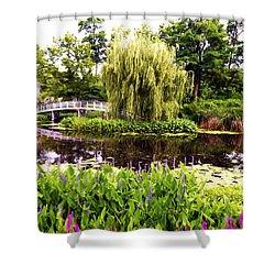 The Artists Garden Shower Curtain