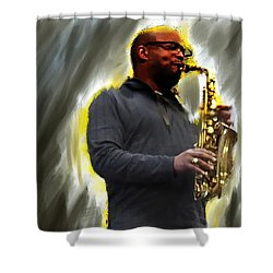 The Artist's Other Shower Curtain