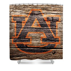 The Auburn Tigers 1a Shower Curtain
