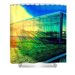 The Aura Of 5.4.7 Gallery Shower Curtain