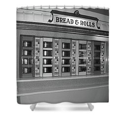 The Automat Shower Curtain