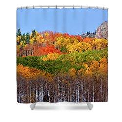 The Autumn Blanket Shower Curtain
