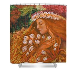 Autumn Shower Curtain by Rita Fetisov