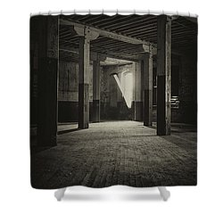 The Back Room Shower Curtain