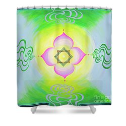 The Bagua Of The Heart Shower Curtain