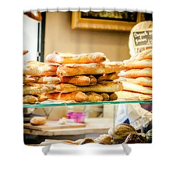 Shower Curtain featuring the photograph The Baker by Jason Smith