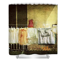 The Balcony Shower Curtain