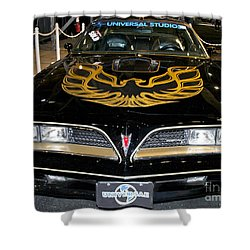The Bandit Shower Curtain