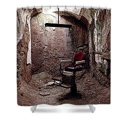 The Barber Shop Chair Shower Curtain