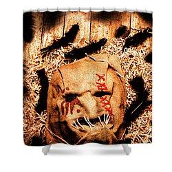 The Barn Monster Shower Curtain