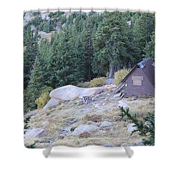 The Barr Trail A Frame Shower Curtain
