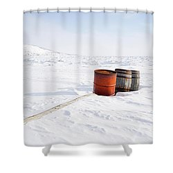 The Barrels Shower Curtain